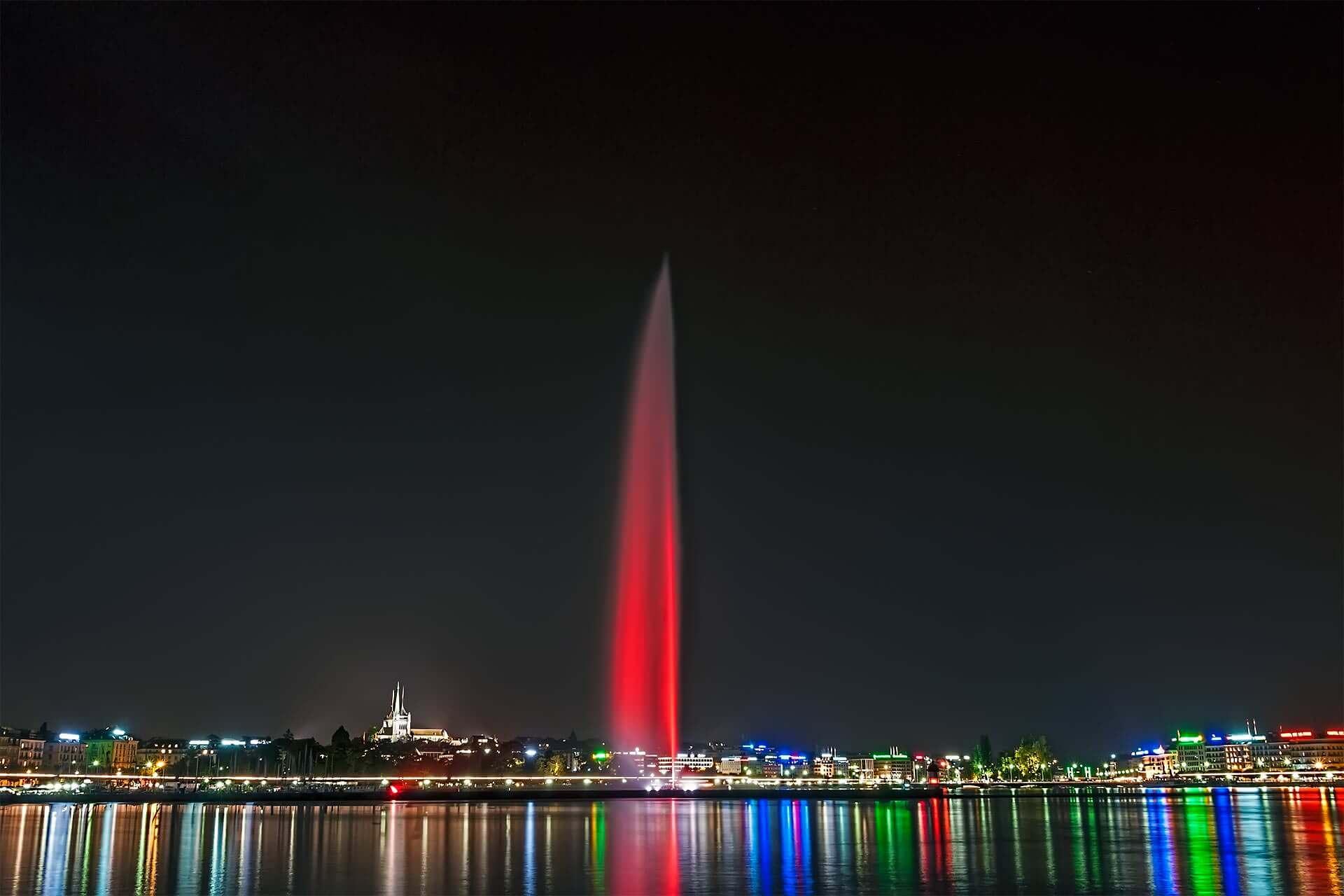Genève by night © dvdesign.com