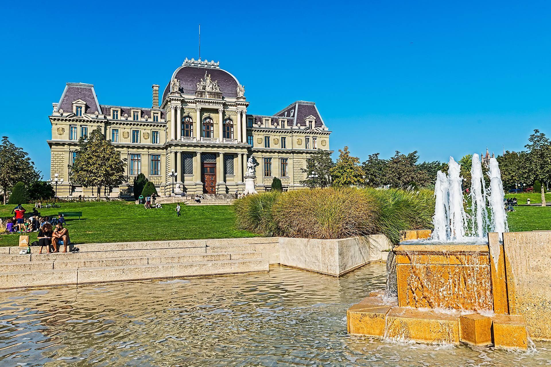 Lausanne Tribunal © dvdesign.com